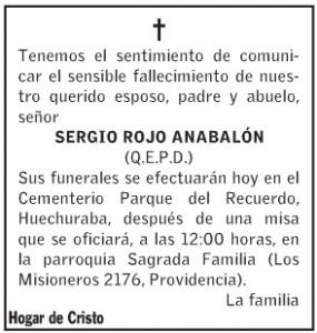Sergio Rojo Anabalón