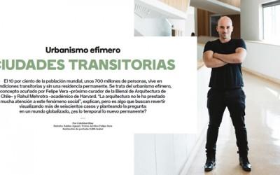 Portada Entrevista a Felipe Vera