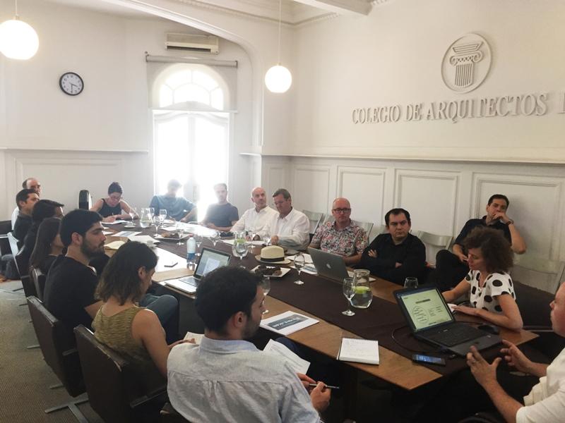 Reunión Equipo Bienal con Escuelas de Arquitectura