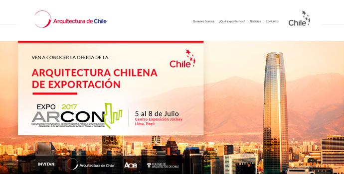 Marca sectorial arquitectura de chile ahora en l nea for Arquitectura en linea